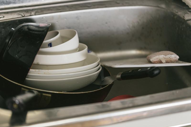 皿洗いがとても面倒に感じるので、対策を考えてみた?