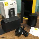 スマートスピーカー最新機種「ZOLO SonicG」 Google Homeと比較して音質・大きさ良し!!