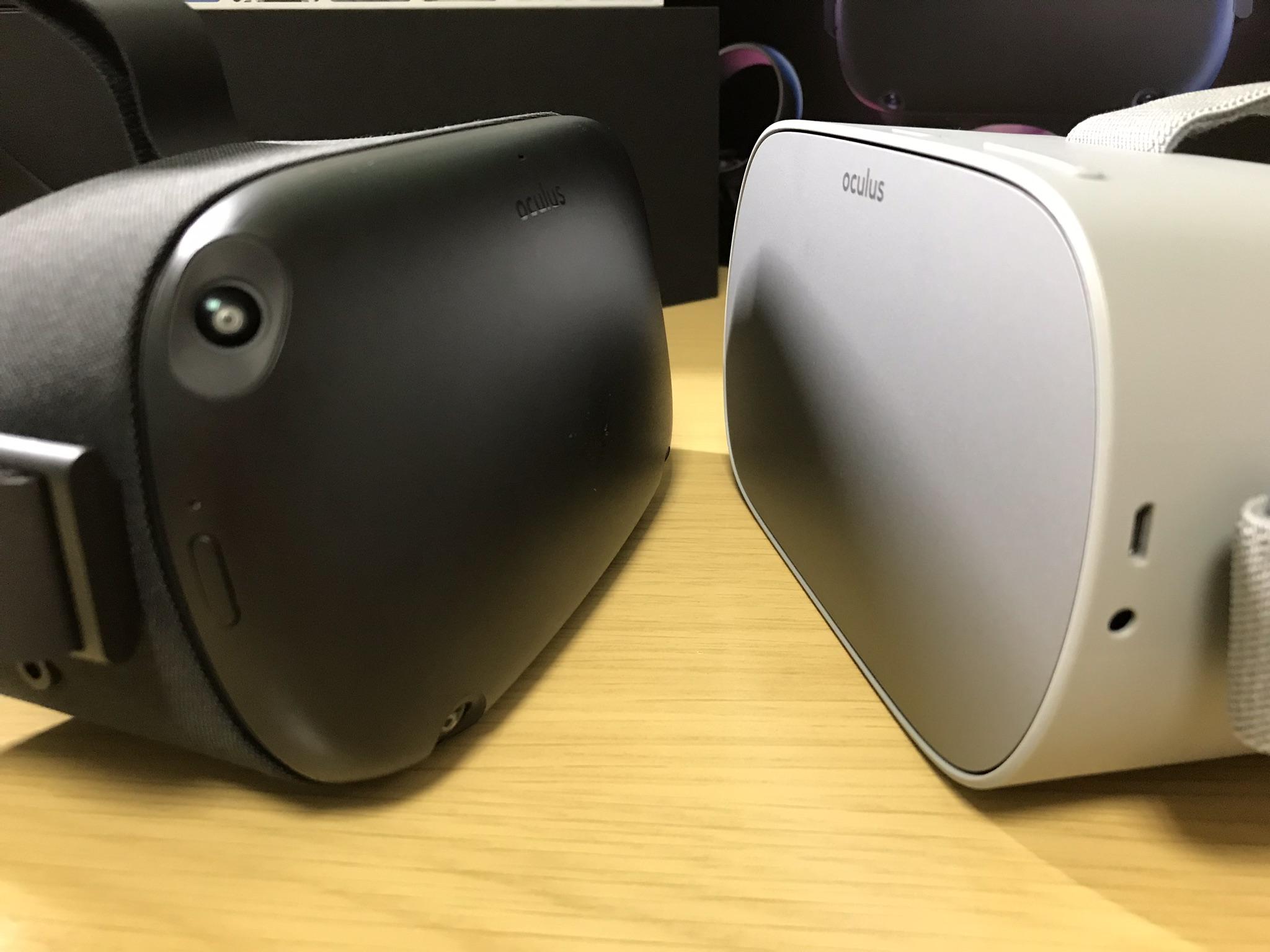 どっち買うのがおすすめ? Oculus Quest/Go違い比較ーPC接続不要VR-HMD