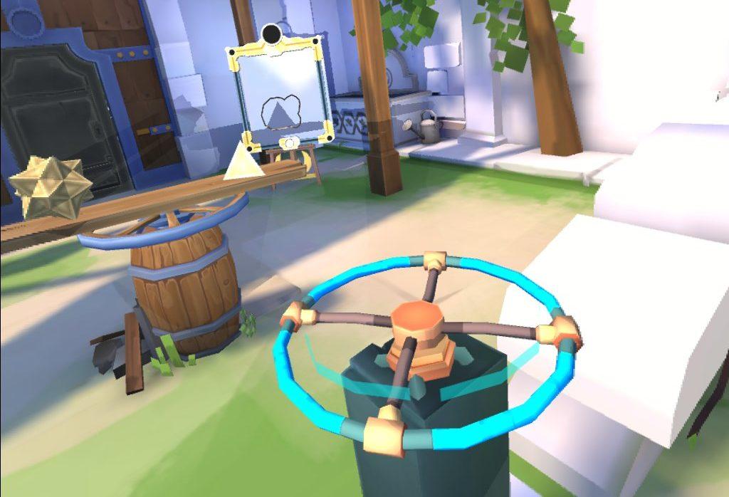Oculus Quest 「ShadowPoint」攻略④ 青空と魔法のレンズと赤い鳥と謎の瞬間移動
